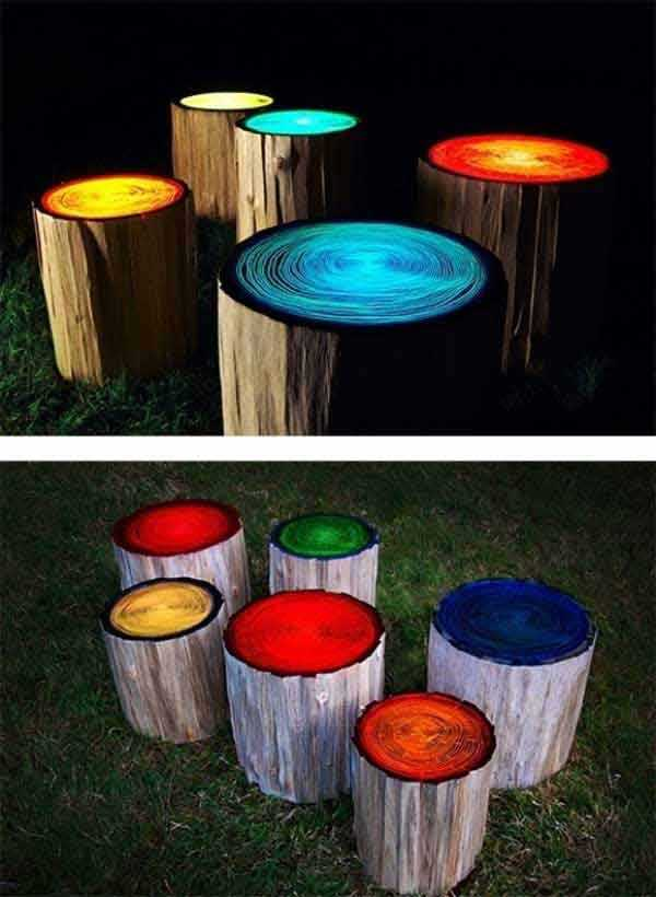 Fab-Art-DIY-Rustic-Log-Decorating-Ideas-for-Home-and-Garden22