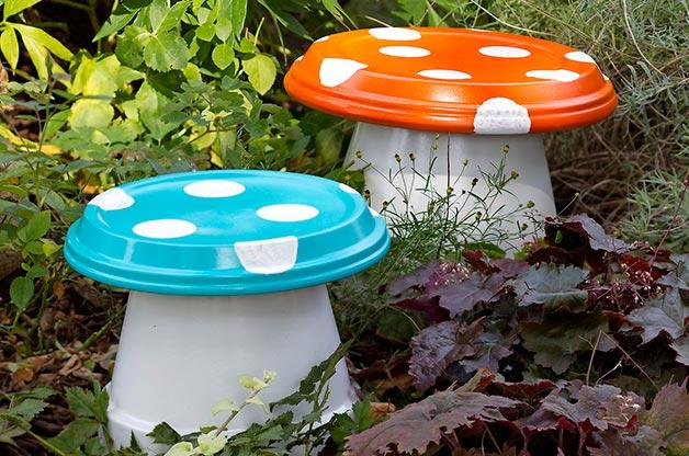 diy-mushroom-stools