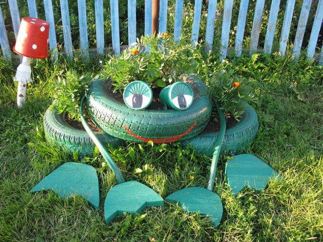 frog-tire-art
