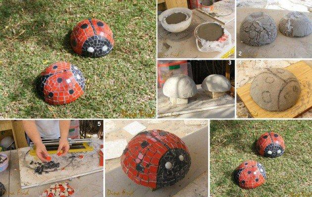 mosaic-ladybug-art
