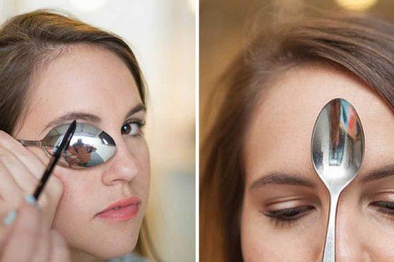13 kosmetických tipů jak využít polévkovou lžíci