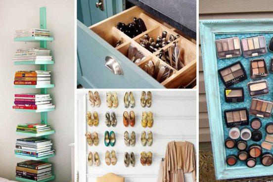 16 chytrých nápadů pro organizaci vašeho domova