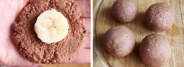 postup 5 Nepečený banánovo tvarohový dezert