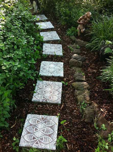 12 inspirací na zahradní cestičky a okrasné kameny_1