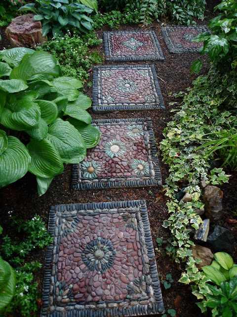 12 inspirací na zahradní cestičky a okrasné kameny_9