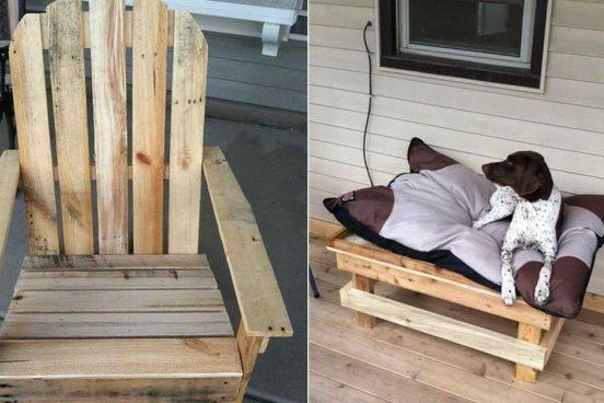 Krásný nábytek z palet do domu i na zahradu