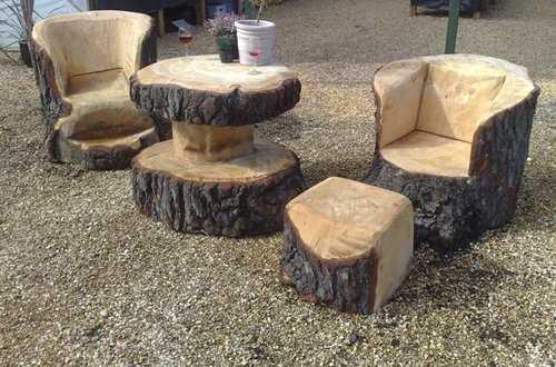 Inspirace krásný dřevěný nábytek na zahradu_1