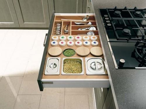nápady na organizaci zásuvek v kuchyni (6)