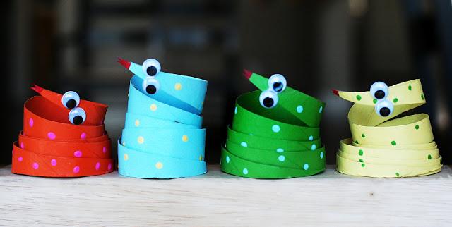 Tvoření s dětmi - nápady, co s ruličkami od toaletního papíru (4)