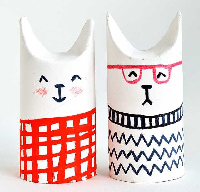 Tvoření s dětmi - nápady, co s ruličkami od toaletního papíru (12)