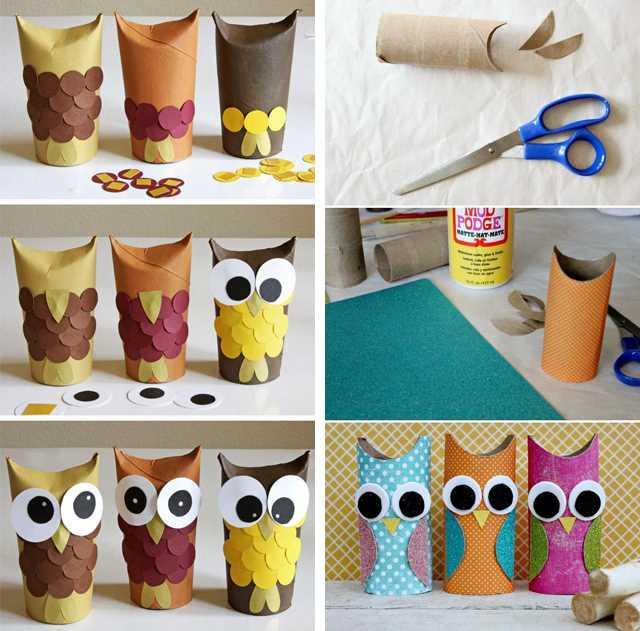 Tvoření s dětmi - nápady, co s ruličkami od toaletního papíru (13)