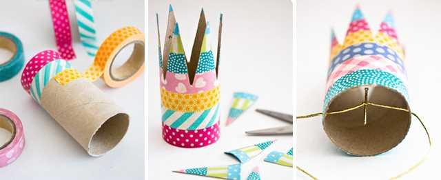 Tvoření s dětmi - nápady, co s ruličkami od toaletního papíru (2)