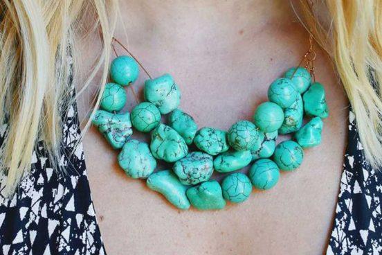 Návod na jednoduchý kamínkový náhrdelník