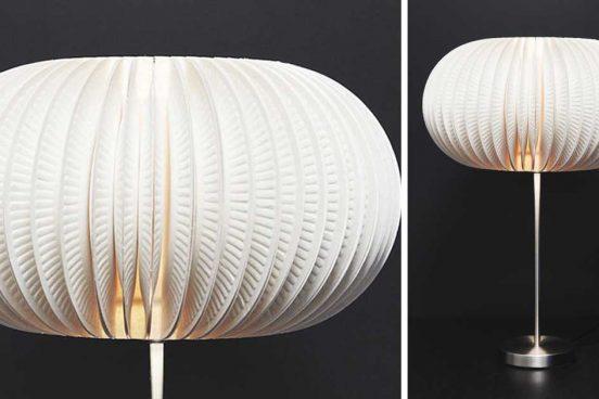 návod na efektní stolní lampu
