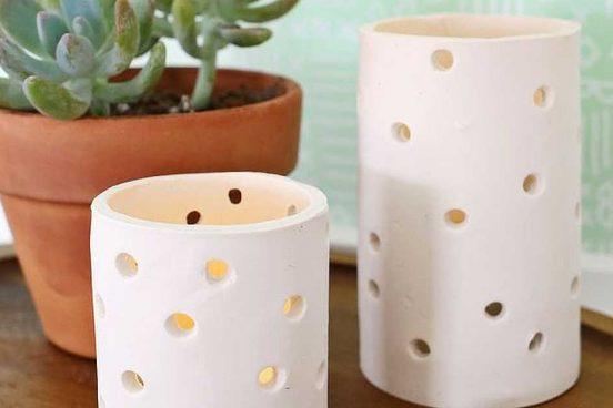 Návod na keramický svícen