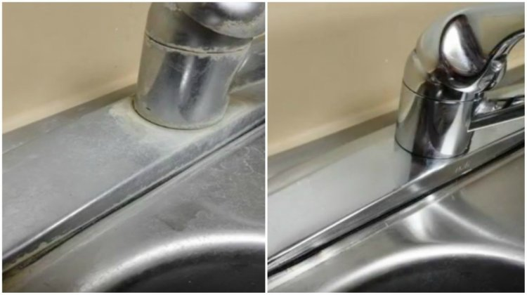 BeforeandAfterHardWaterSink