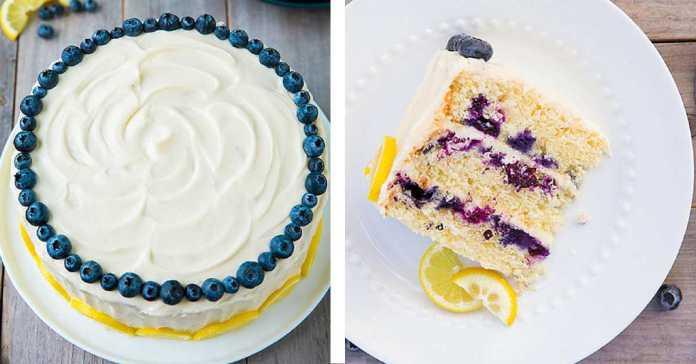 Citrónovo-borůvkový-dort-s-andělským-krémem