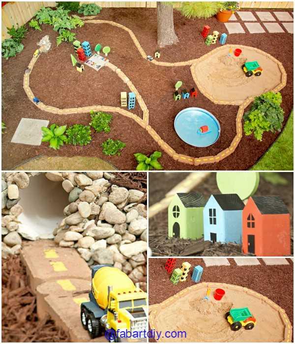 DIY-Outdoor-Race-Car-Track-Tutorial-fabartdiy-3