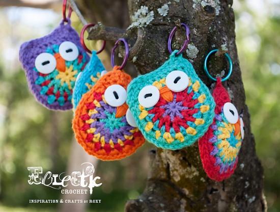 Owl-Key-Rings-Free-Crochet-Pattern-550x416