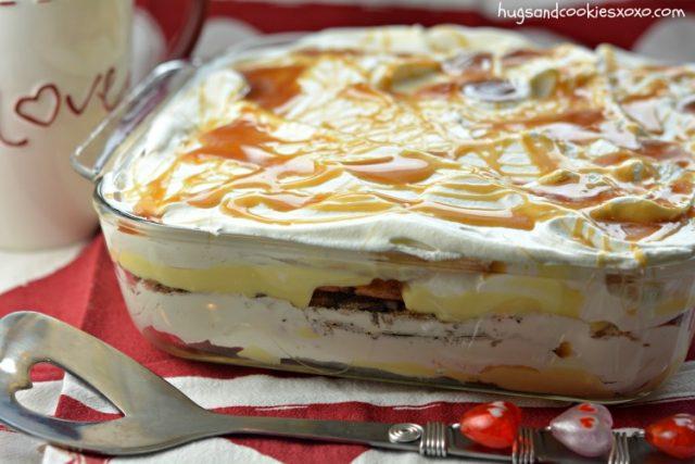 caramel-cookie-lasagna