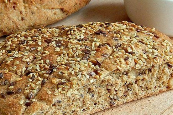 Recept na semínkový chléb
