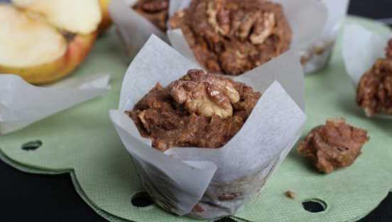 Recept na jablečné mufiny