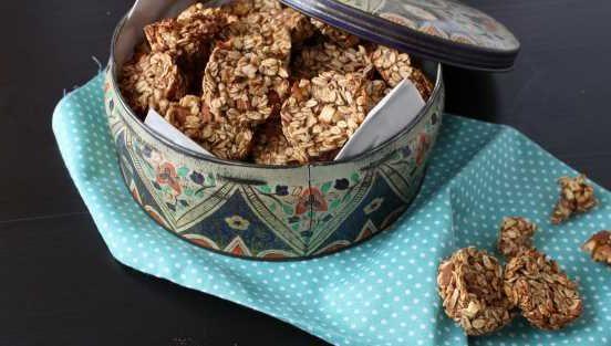 Recept na ořechové sušenky