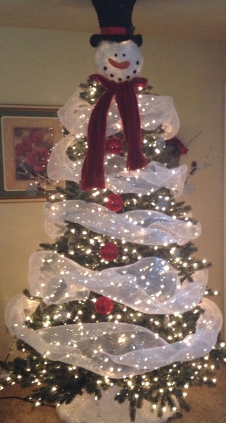 snowman-christmas-tree-idea