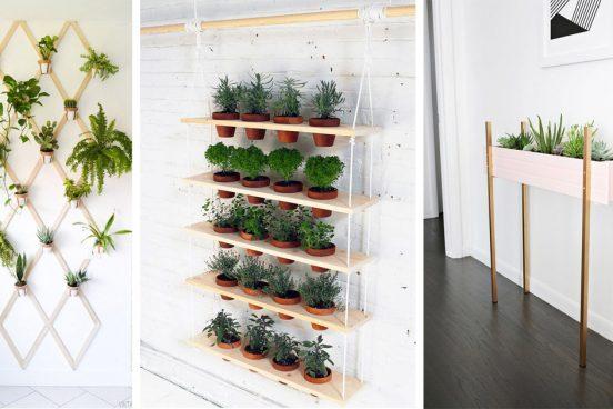 16 inspirací na bylinkové mini zahrádky do bytu