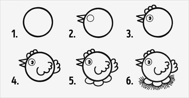 10 návodů, jak v 6 jednoduchých krocích nakreslit zvířátka | Čarujeme
