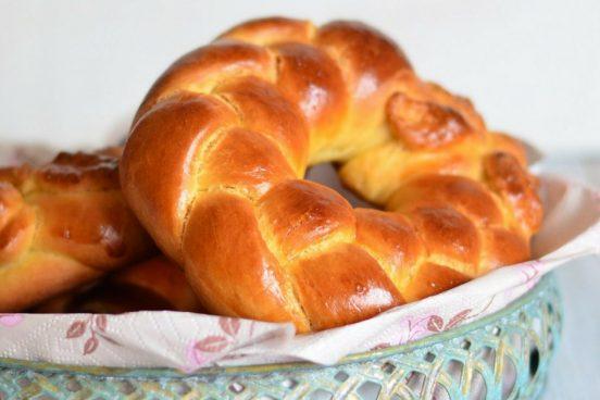 Recept na velikonoční kynutý pletenec