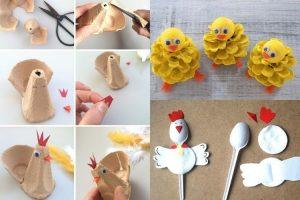 velikonoční vyrábění s dětmi